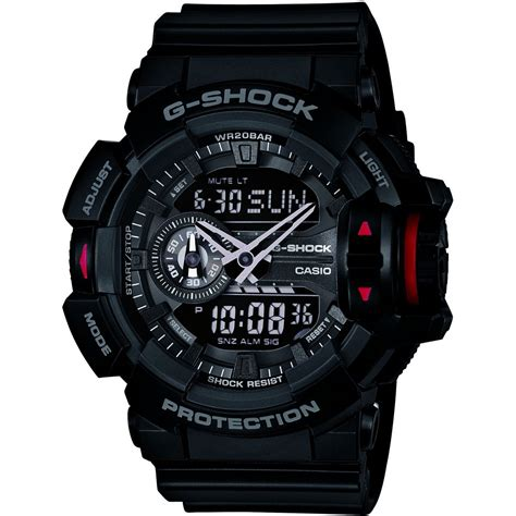 Gshock Ga 400 gents casio g shock alarm chronograph ga 400 1ber