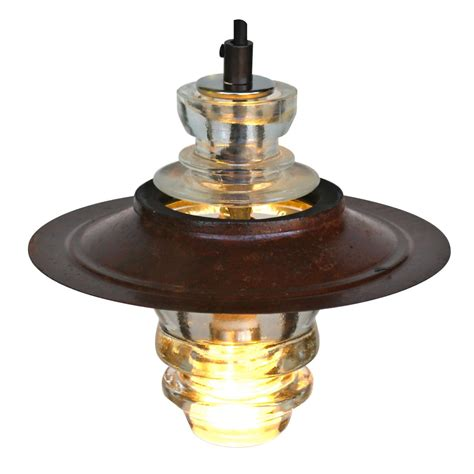 Insulator Pendant Lights Insulator Light Pendant Lantern W Metal Led 120v 6w 510 Lumens Dimming Railroadware