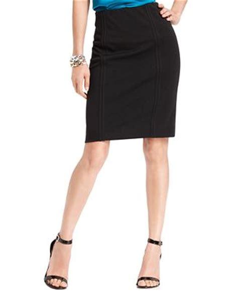 grace elements knee length pencil skirt skirts