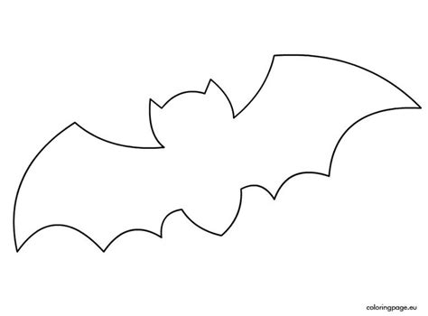 bat template printable 25 best ideas about bat template on bat