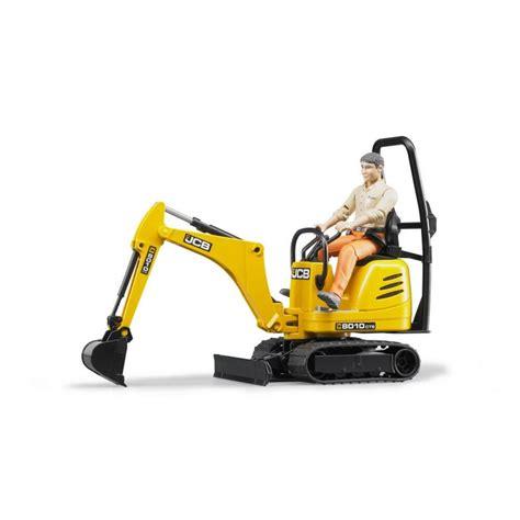 bruder excavator bruder jcb micro excavator cts and worker jadrem toys