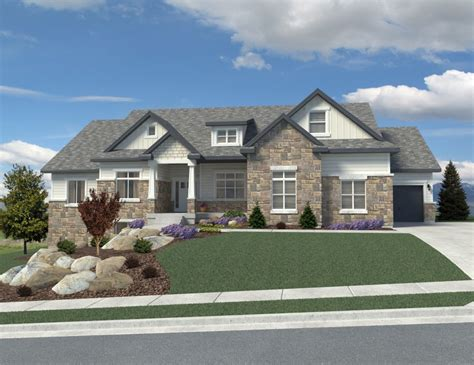 Custom Homes Designs Utah Custom Home Plans Davinci Homes Llc
