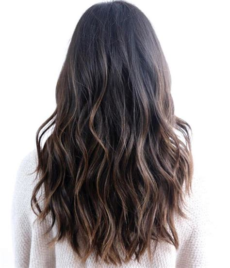 cute hairstyles brown hair 80 cute layered hairstyles and cuts for long hair wavy