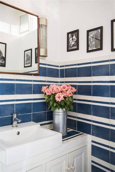 bathroom tiles blue and white 40 navy blue bathroom tiles ideas and pictures
