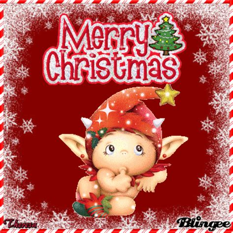 merry christmas elf top  picture  blingeecom