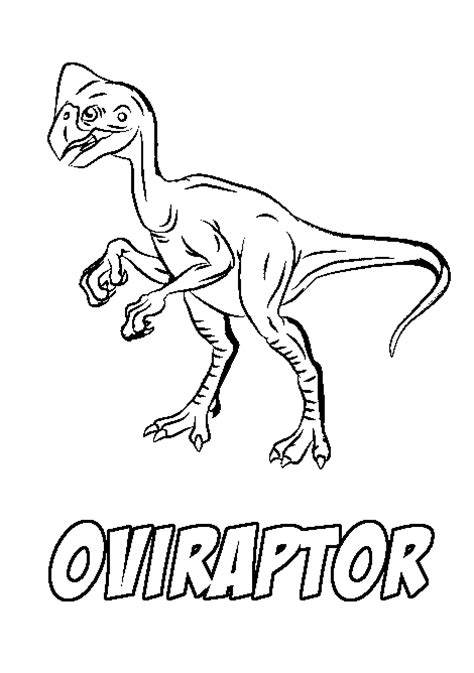 black raptor free coloring pages