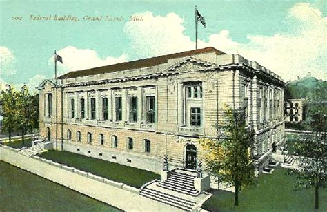 Grand Rapids Post Office by Images Of Michigan Post Offices