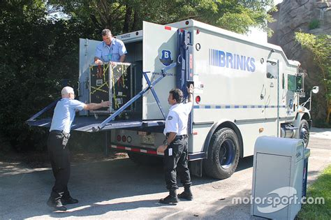 brinks armored trucks brinks armored vehicle arrives at the miami zoo at homestead