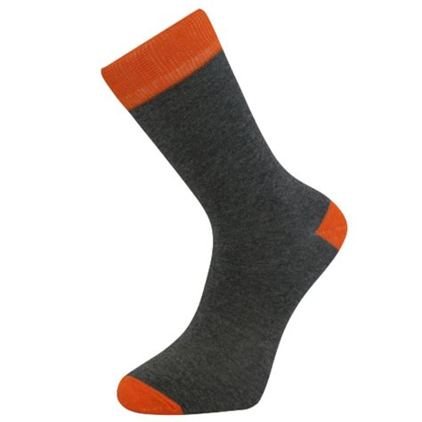 mens colored socks mens comfortable cotton ankle socks grey with colored band