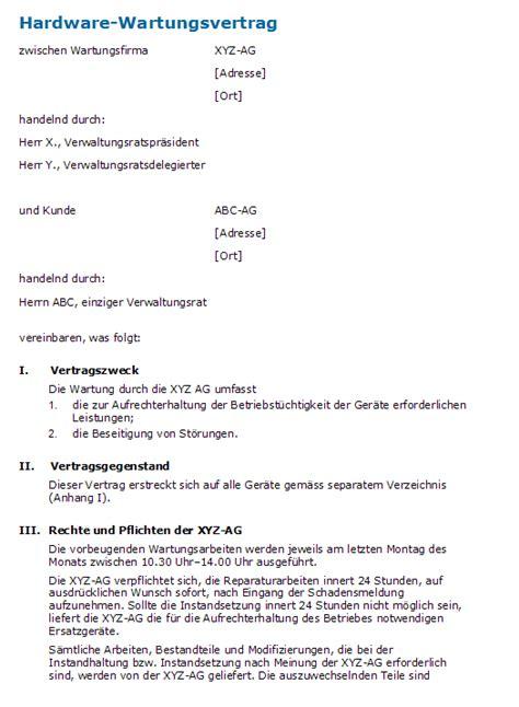 Lebenslauf Schweizer Standard Muster Service Level Agreement Sla Bas Tortechnik Prf Und Wartungsvertrag Muster