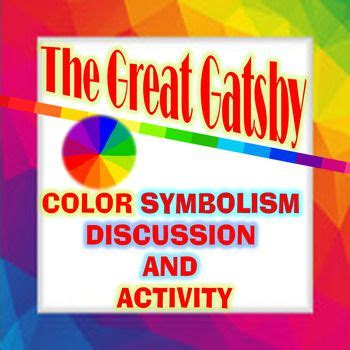 color symbolism in the great gatsby lesson plan 83 best great gatsby lesson plans images on pinterest