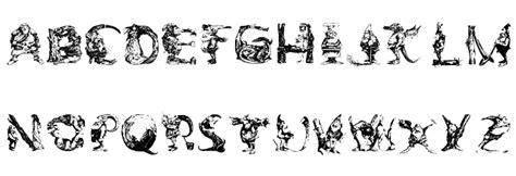 decorative font lowercase elfabet decorative font download