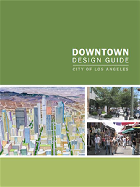 downtown design guidelines knoxville downtown design guide urban design studio city of los