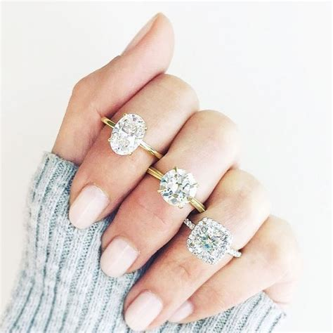 Popular Engagement Ring Trends   Who What Wear