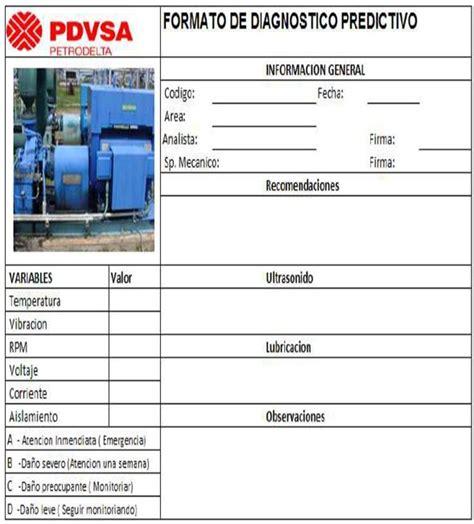 descargar formatos excel mantenimiento preventivo formatos de ordenes de trabajo de mantenimiento preventivo