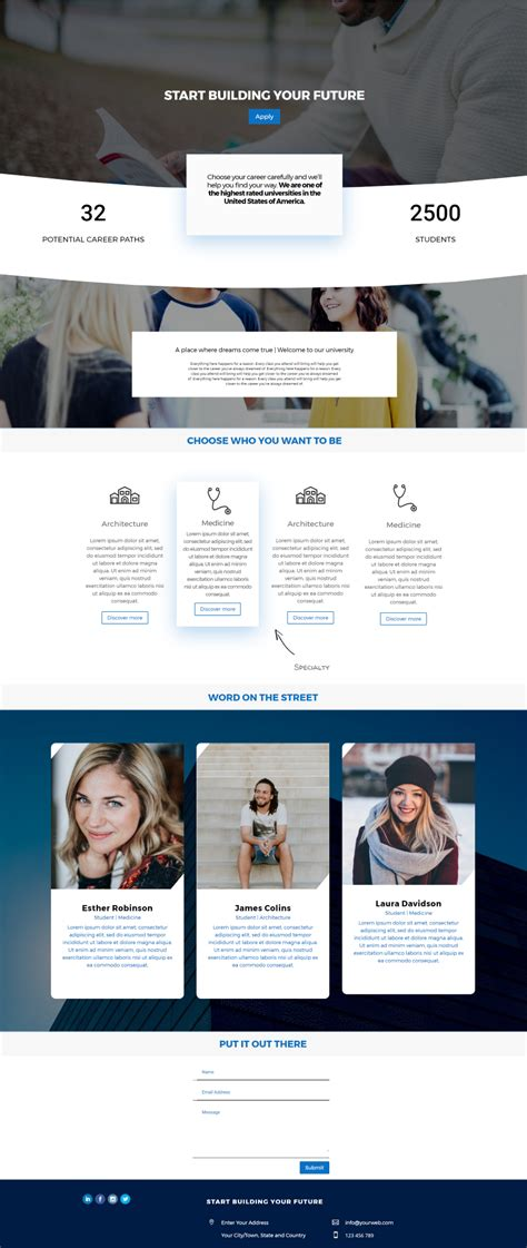 divi theme blog homepage divi child themes that are perfect for ecourse websites