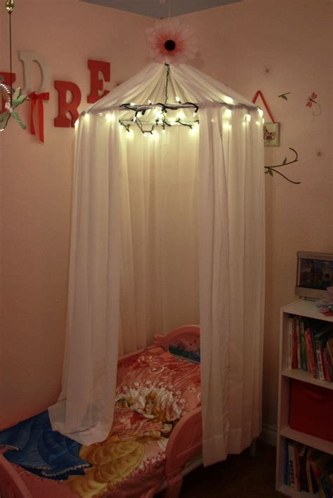 Betthimmel Mit Lichterkette by Adventures In Pinteresting Bed Canopy With