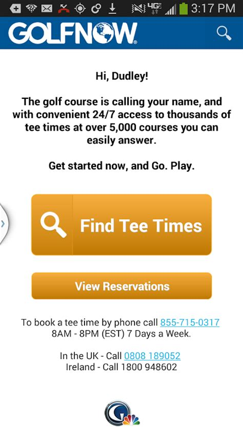 Golfnow Canada Gift Card - golfnow gps rangefinder android apps on google play