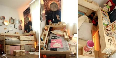 kinderbett aus paletten selber bauen kinderbett aus paletten diy ideen f 252 r kreative eltern
