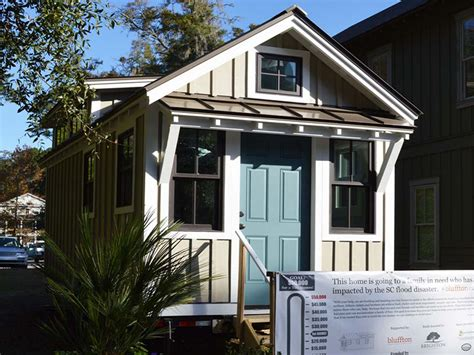 Small Home Builders Sc Tiny Home For A Big Cause Brighton Builders Bluffton