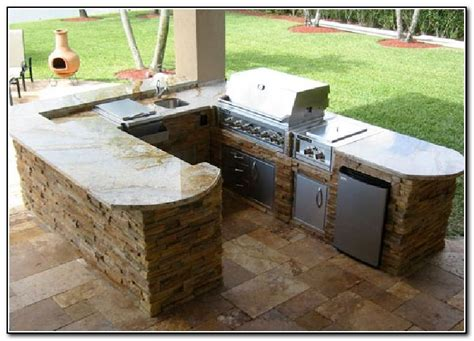 Diy Outdoor Kitchen Ideas Outdoor Kitchen Kits Diy Kitchen Home Design Ideas