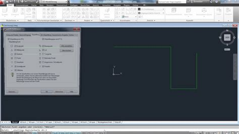 tutorial autocad deutsch autocad schulung deutsch 2 lektion objektfang youtube