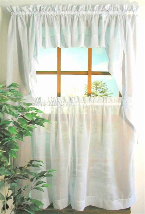 what are tier curtains oyster bay sheer voile tier panel