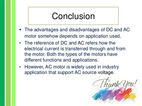 disadvantages of brushless dc motor advantages and disadvatages of ac dc motor