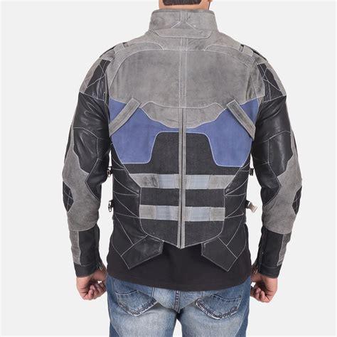 grey leather s militia grey leather jacket