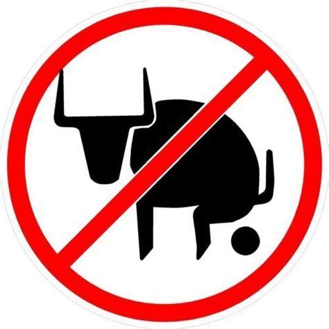 Sticker No 4 no bullshit sign bull vinyl sticker decal 4 stickers ebay