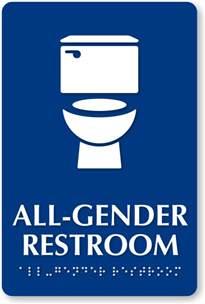 All gender restroom toilet washroom sign free download clip art free