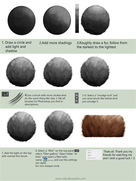 photoshop pattern brush tutorial fur tutorial for adobe photoshop by ryky on deviantart