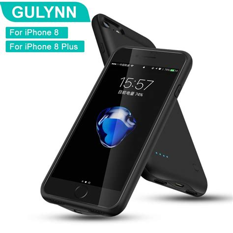 gulynn battery charger case  iphone