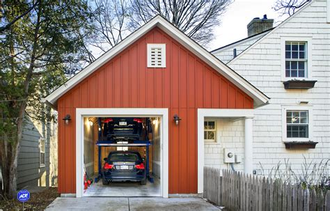 small homes with 2 car garage on foundation everyday solutions garage is built up instead of out