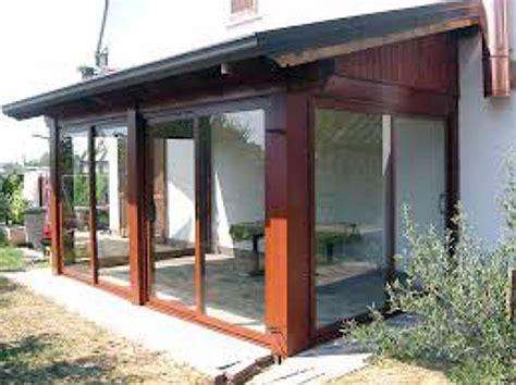 veranda chiusa in legno foto veranda in legno chiusa di edilrestauri