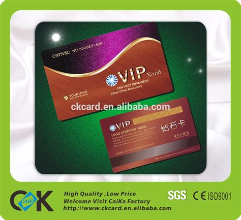 Gym Membership Card Maker pvc sle membership card plastic vip card loyalty card