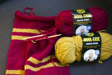 harry potter scarves knitting patterns harry potter knit scarf