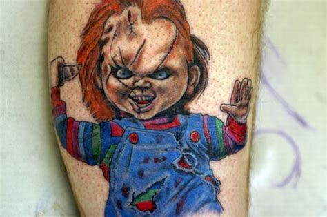 chucky tattoo designs this week s tuesday we ve found really cool chucky