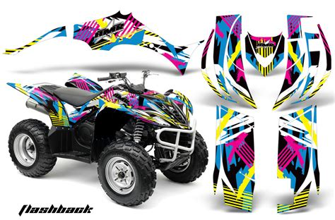 Wolverine Graphic 4 yamaha wolverine atv graphic kit 2006 2012