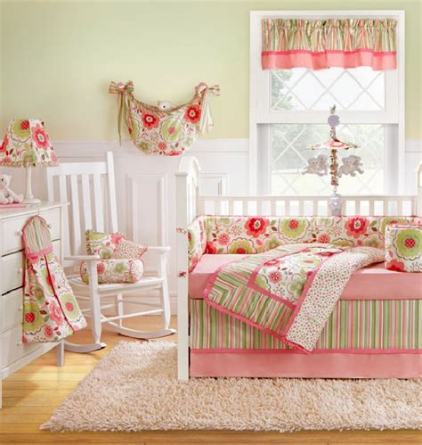 Baby Nursery Bedding Sets White And Pink Baby Bedding Blends In With Most Design Themes Decoist