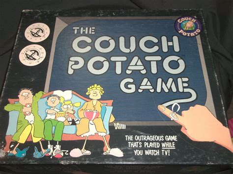 couch potatoes game show 1987 couch potato game complete party game