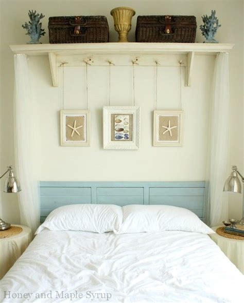 ideas for decorating over the bed with decor gray bedroom awesome above the bed beach themed decor ideas