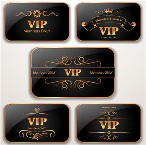 Vip Membership Card Template by Free Vip Card Templates Vector Titanui