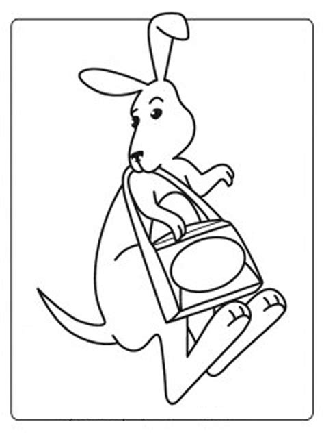kangaroo coloring pages pdf kangaroo coloring part 2 coloring home