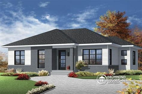 3 bedroom bungalow house plans with garage