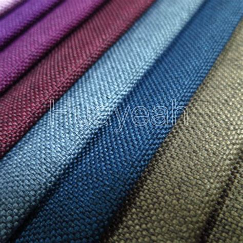 Vinyl Upholstery Fabric Suppliers Linen Like Polyester Upholstery Vinyl Fabric
