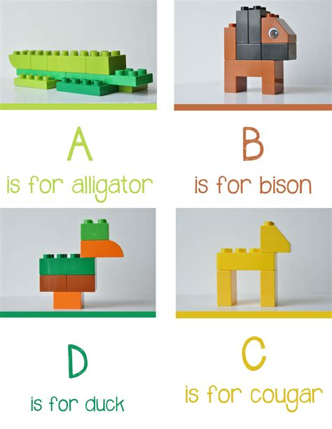 lego animal alphabet from playlearnlove cool mom picks