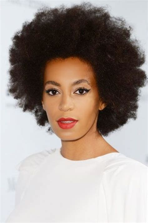 solange knowles natural hairstyle for natural curly hair styles weekly