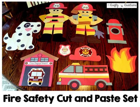 kitchen fire safety bulletin board myclassroomideas com 47 best cut and paste crafts images on pinterest