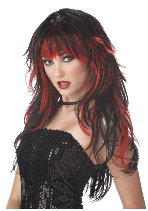 halloween punk hairstyles women s vire wig